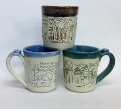 blue Ridge Scene Custom Mugs