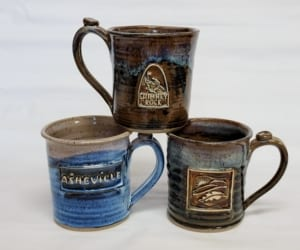custom medallion handmade mugs