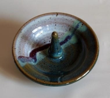 ring saucer -small pottery
