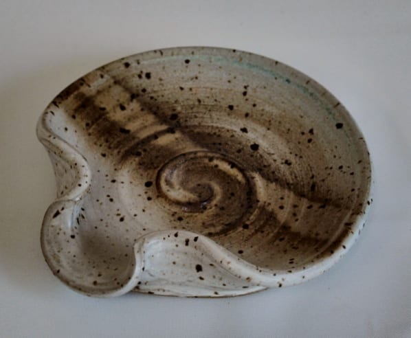 Spoon rest - small pottery