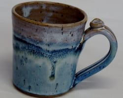 wide mouth mug - sky