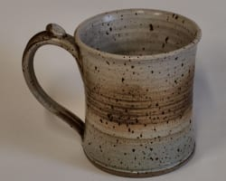 wide mouth mug - smoky