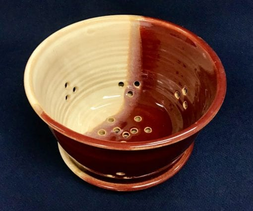 Red berry Bowl pottery