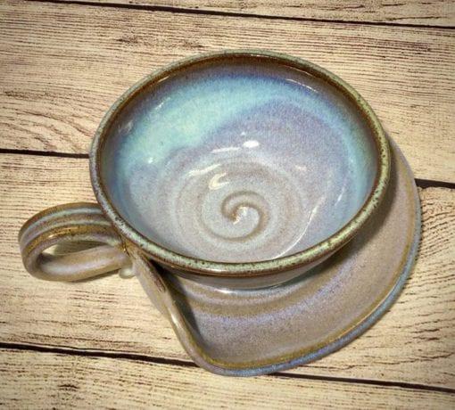 Soup bowl pottery