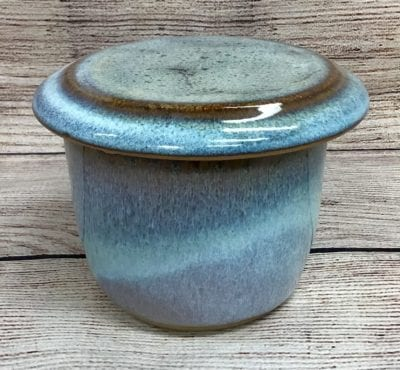 French Butter keeper pottery