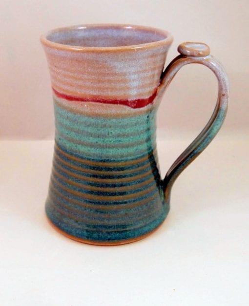 pottery stein