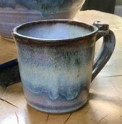Salvaterra pottery mug