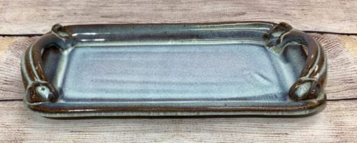 small bread tray in Mist by Salvaterra Pottery