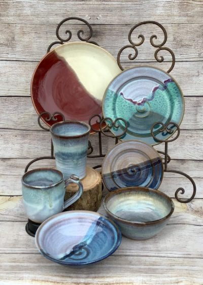 Handmade Pottery Dinnerware