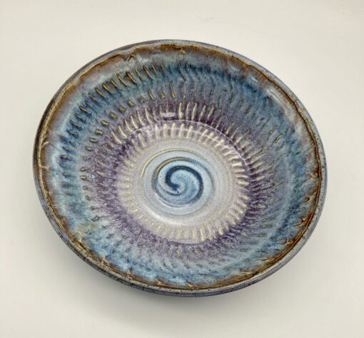 Spiral coffee table bowl
