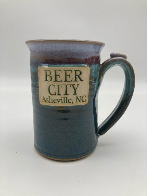 Beer City Asheville Mug Green