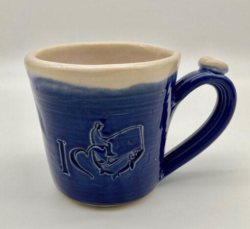 Loving Life Fishing mug