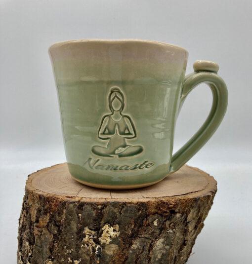 Loving life Namaste Mug